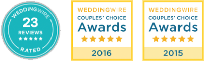 EV Floral Design is Top Rated on Wedding Wire